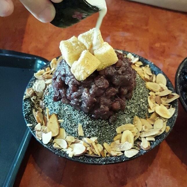 Black Sesame Bingsu #빙소#nunsongyee#black#sesame#sgfood#burpple
