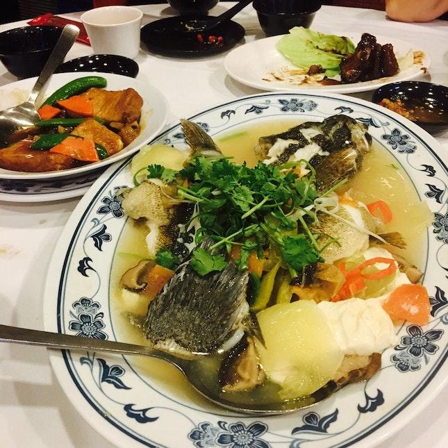Teochew Style Steamed Soon Hock