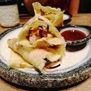 Chicken Katsu Tacos!