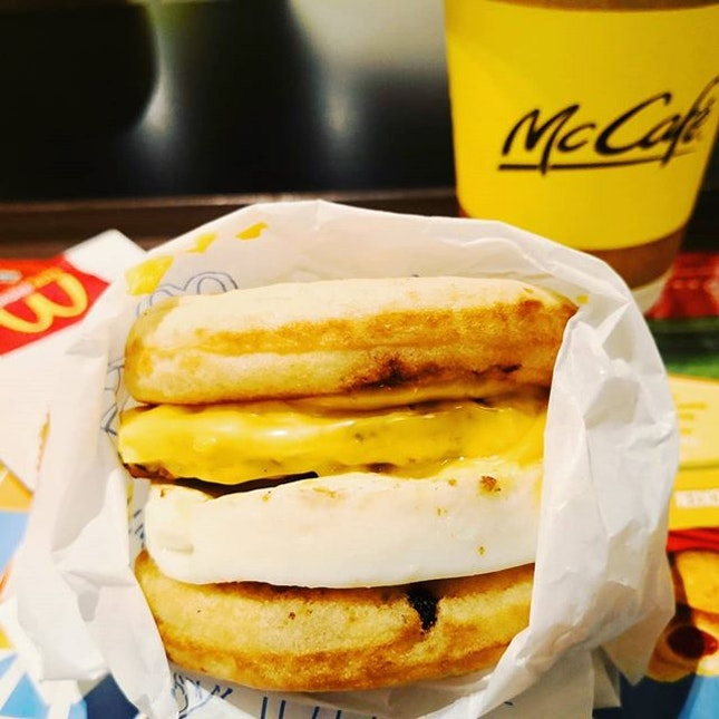 Mcgriddles with Sausage and Egg.