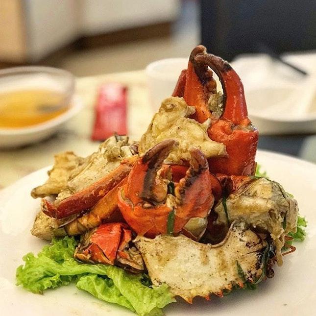 my favourite white pepper crabs 🦀🦀🦀 ATTACK!!