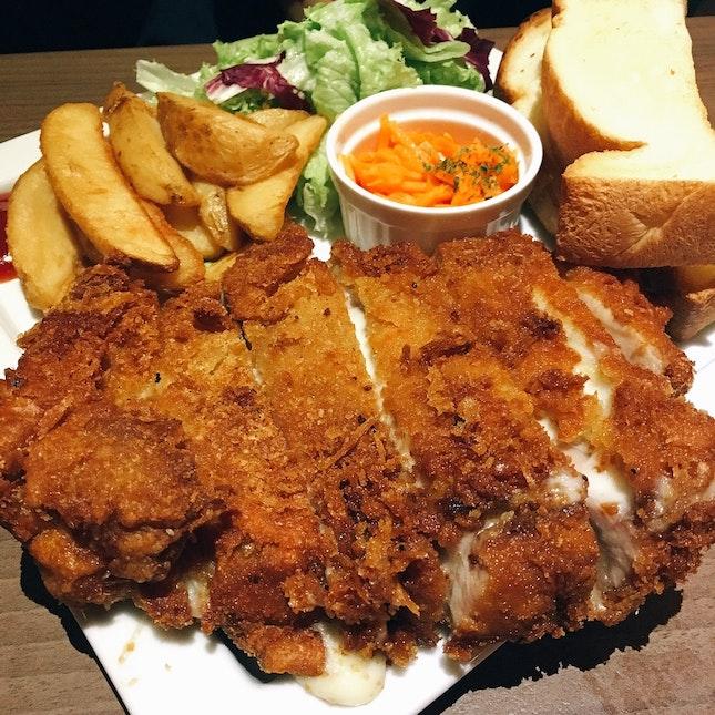 Chicken & Mozzarella Cutlet