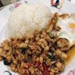 Basil Chicken Rice ($6.00)