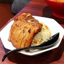Pork Chop Fried Rice | Similar to the other restaurant's but perhaps lacking a little in the rice segment.