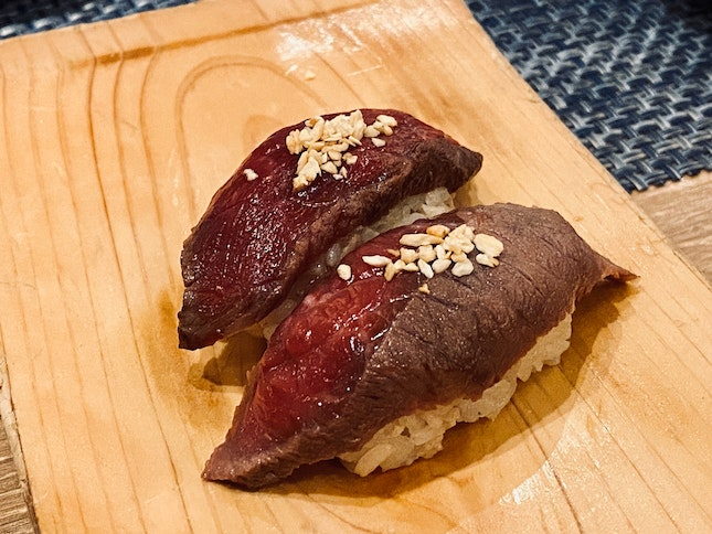 Grilled Miso Wagyu S$6.90