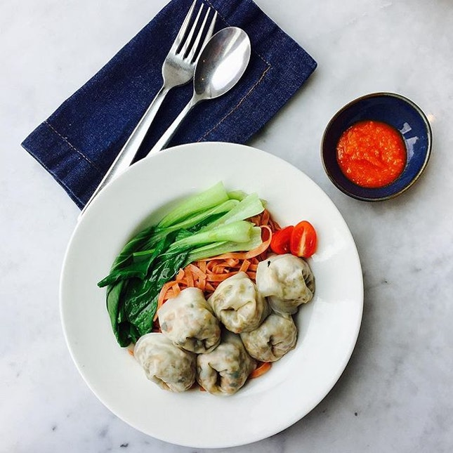 When eating healthy eating clean can be so good, really love the dumplings here!!