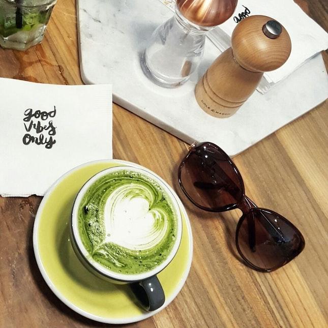 Matcha Soy Latte