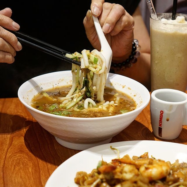 Can't decide between Assam Laksa or Char Kway Teow?