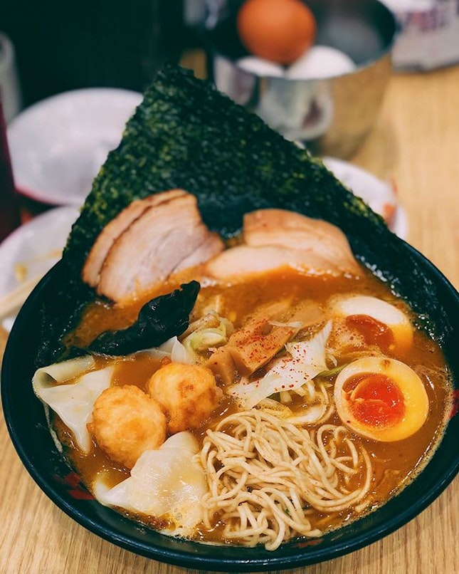 Ramen broth that tastes like lobster bisque?