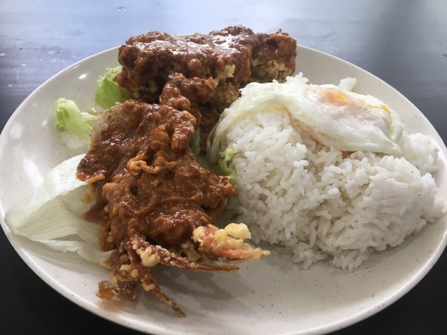 Dry Curry Soft Shell Crab