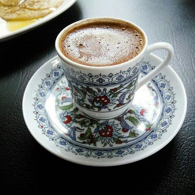Turkish coffee @ Arkadas cafe.