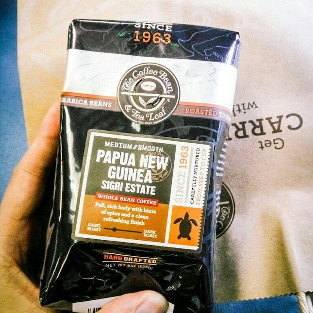 Arabica Coffee Beans From Papua New Guinea Sigri Estate