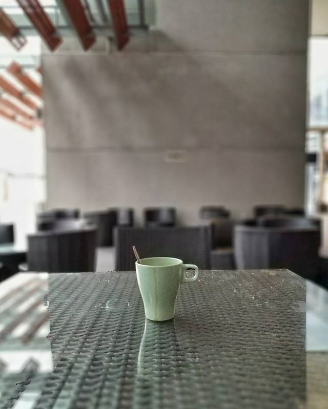 #Coffee on a rainy Tuesday morning
