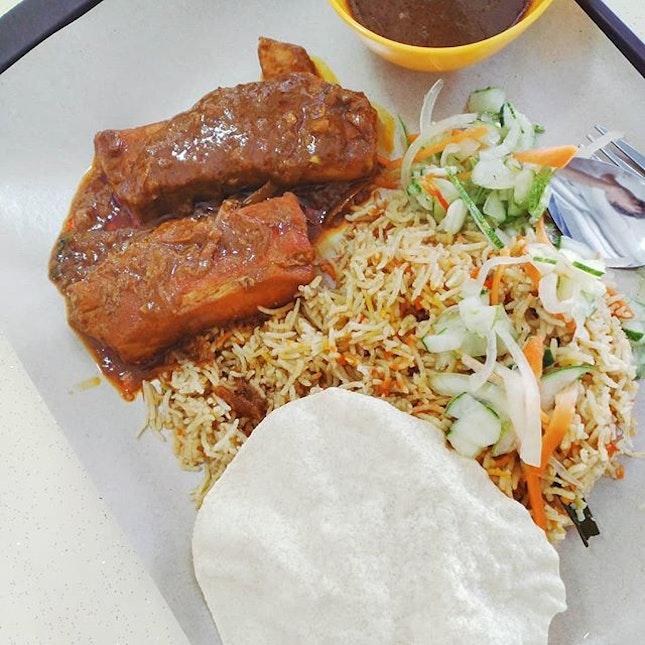 Pork Briyani.