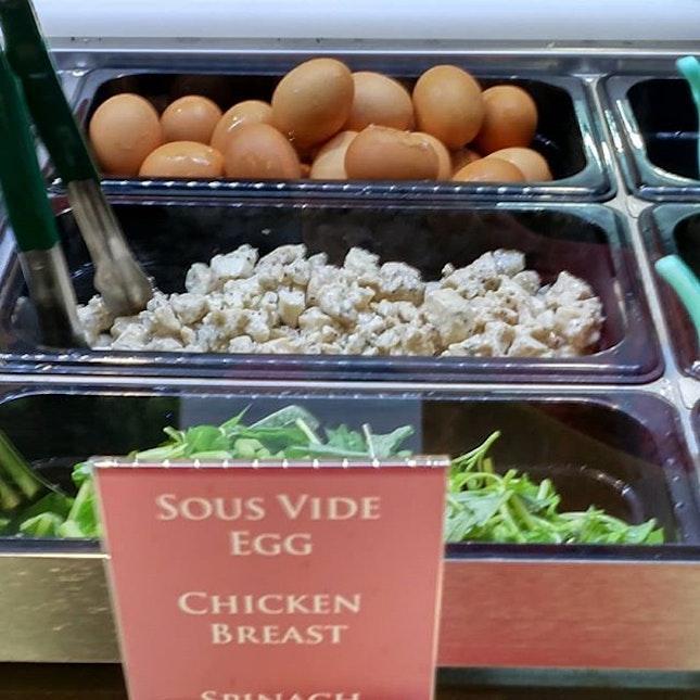 Sous vide eggs in NUS!