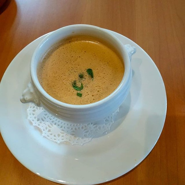 #Lobster bisque.