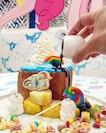 Candylicious Rainbow Fruity Shibuya Toast @kumoya_singapore 🦄🌈 .