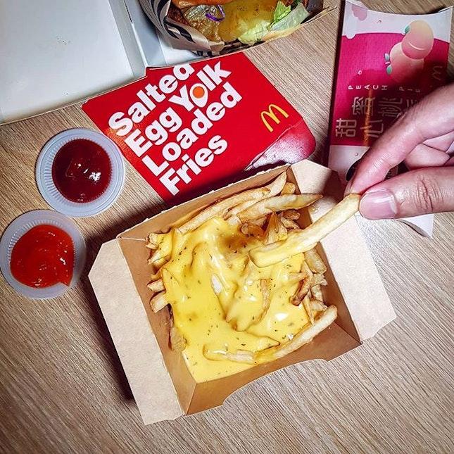 [NEW] Salted Egg Yolk Fries?