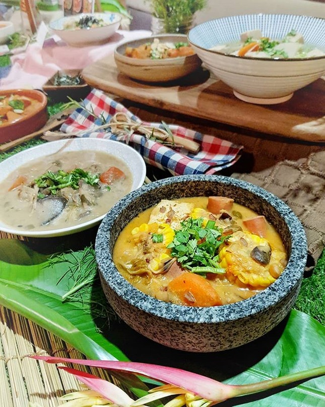 [NEW] 🙅♂️🥩🙅♀️🥩 In conjunction with 2nd World Meat-free week, #TheSoupSpoonSg & #QuornSg have partnered up to introduce a range of wholesome, meat-free soups!