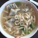 Dumpling Ban Mian Soup