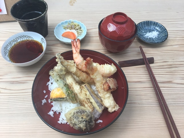Ryu's tendon lunch set