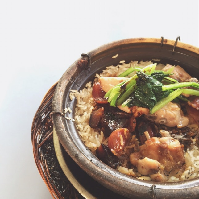 Awesome Claypot Mixed Rice