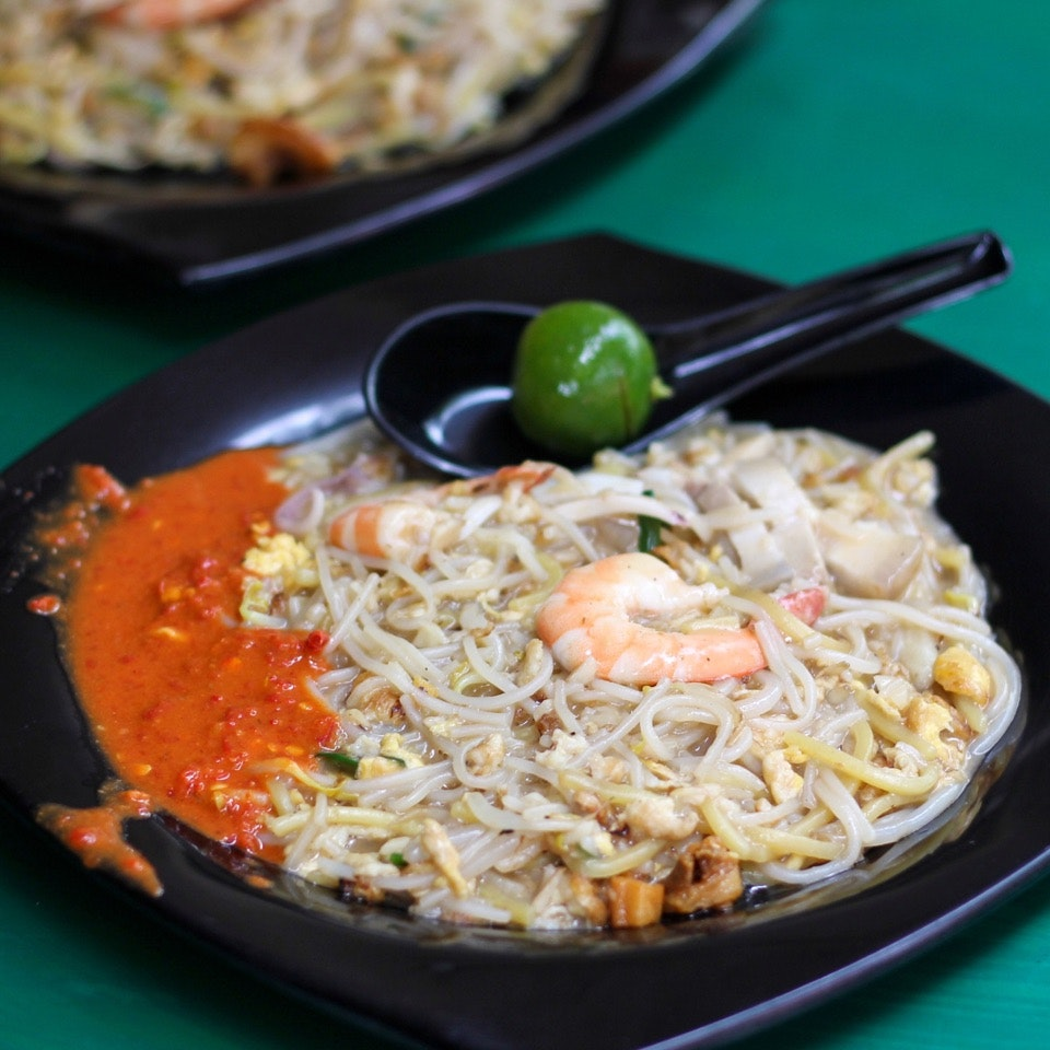Xiao Di Fried Prawn Noodle 小弟炒虾面