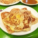 The Egg Prata was such a let down but the Cheese Prata even out the score ✔.