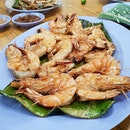 Oh how I miss the plump and juicy BBQ prawns from that day...