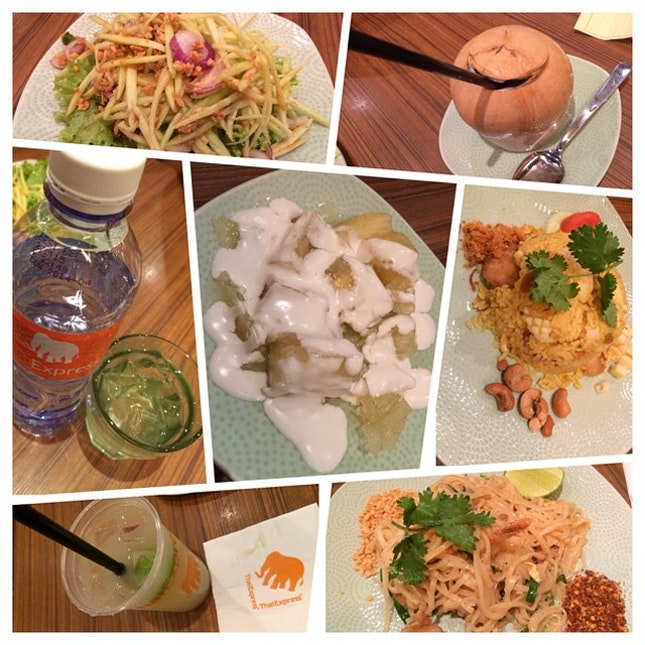 Dinner @ Thai Express #burpple