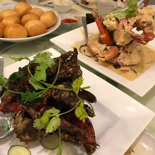 Flashback to last Sunday Crab Feast.