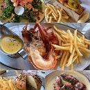 Super duper happy to have Burger & Lobster near our office!