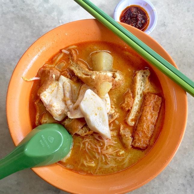 Curry Chicken 米粉面 ($4)
