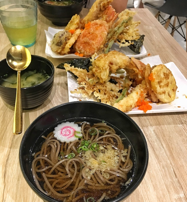 Mixed Tendon (+$1 for Soba)