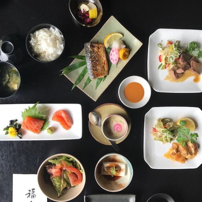 Fuku Fuku Lunch RM43