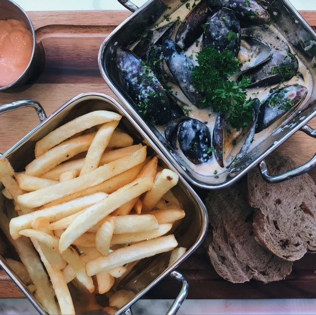 Mussel Fries (RM54)