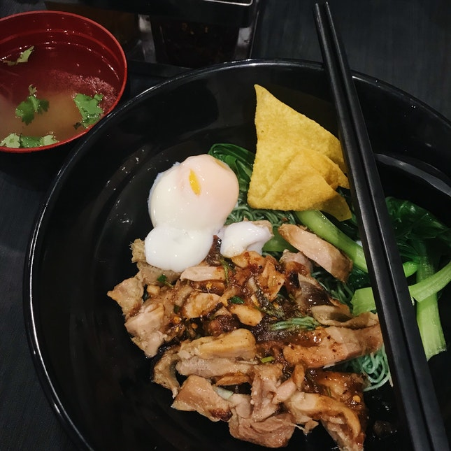 Double Grilled Chicken Jade Noodle ($6.90)