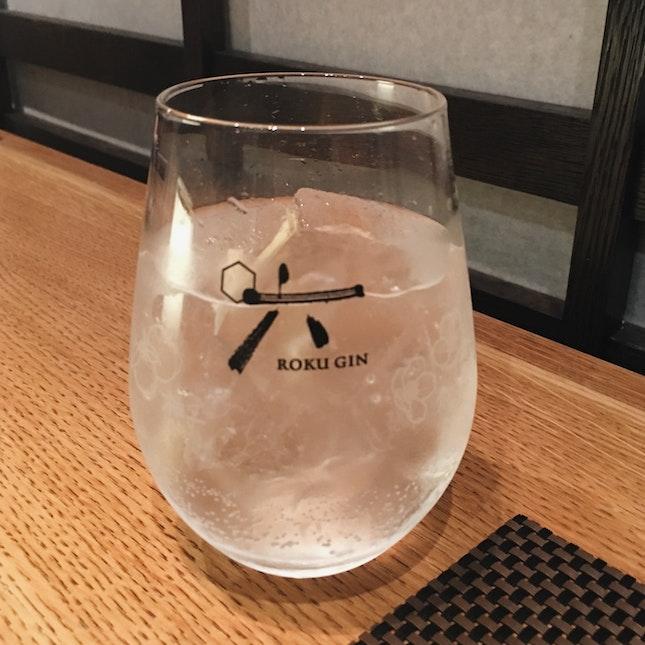 1-for-1 Roku Gin & Tonic ($18)
