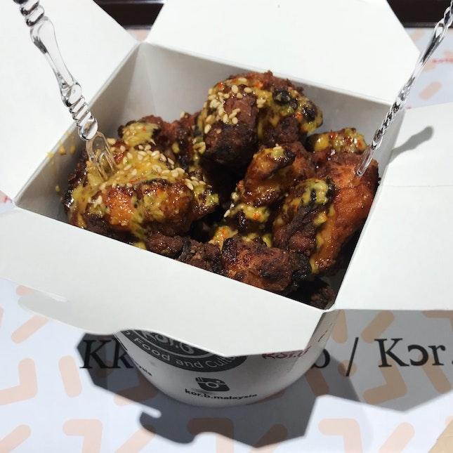 Boneless Friend Chicken (RM14.90)