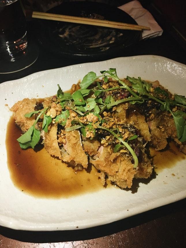 Duck Tonkatsu ($18)