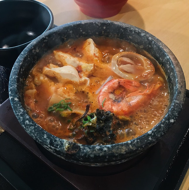 Magma Spicy Udon ($13.80)