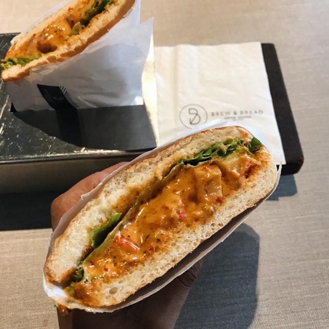 Chilli Crab Sandwich (RM12)