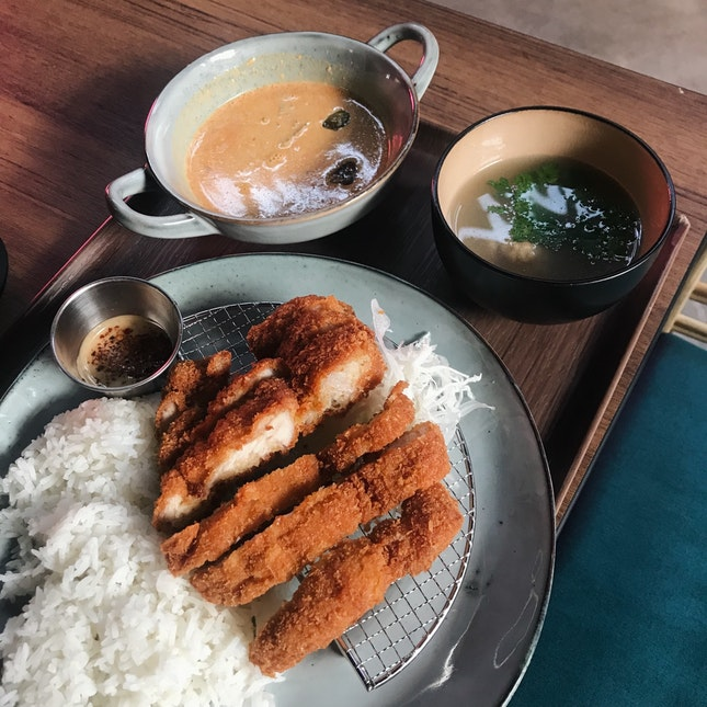 Thongchai's Tonkatsu Curry (RM24 or RM18 for lunch)