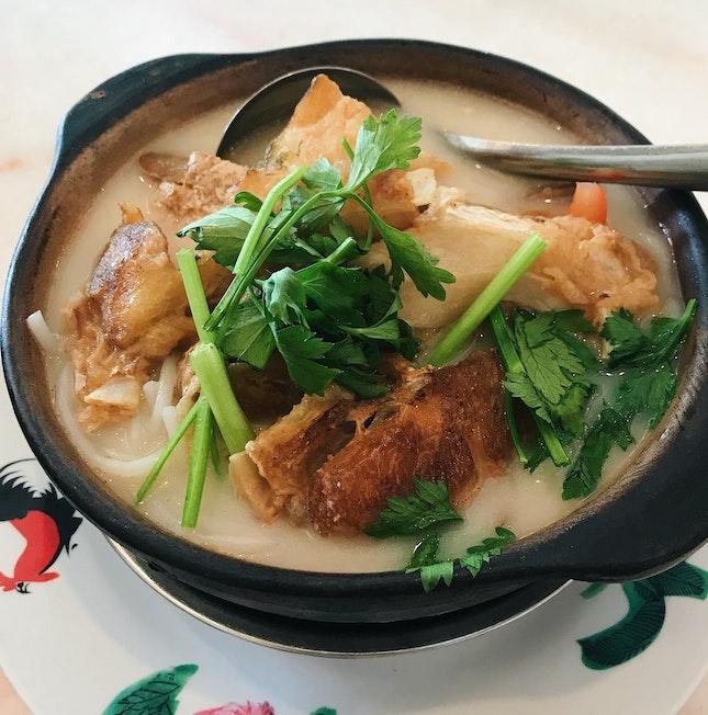 Claypot Fish Meat-On-Bone Noodles (RM14.90)