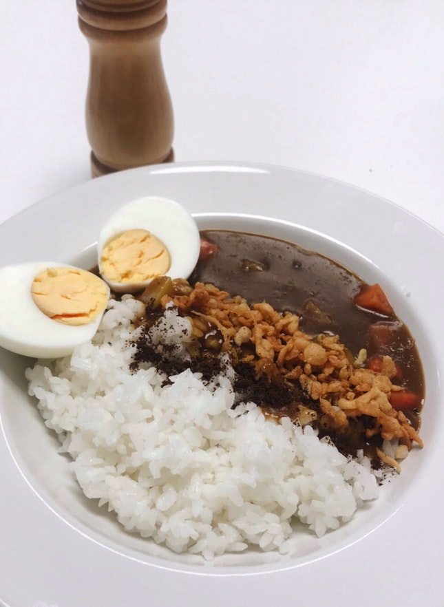 Barista Curry Rice (RM15)