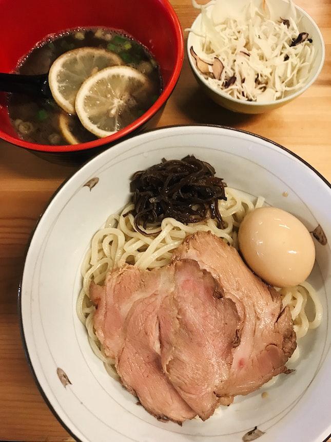 Lemon Tonkotsu Tsukemen (RM29)