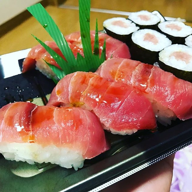 The only time when I will have sushi for supper !