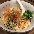 Ebiko Prawn Paste With Chili Vinaigrette Ramen ($11.90)