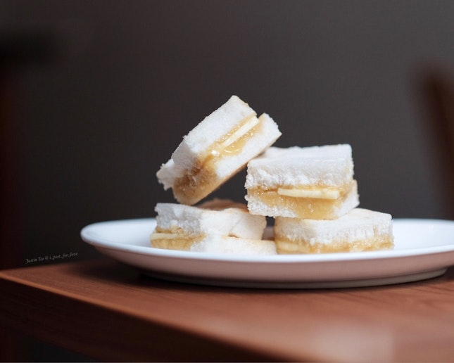 Truffled sea salt kaya toast [$10 for a 200ml bottle kaya].