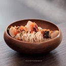 Mentaiko Somen [three course lunch at $32+ with $3+ supplement]